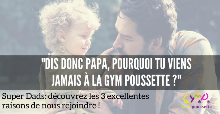 Read more about the article La remise en forme pour Papa aussi